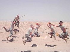 """FANBOY LEVEL = EXPERT!  """"These Soldiers Took Some Of The Most Impressive Quidditch Photos You'll Ever See"""""""