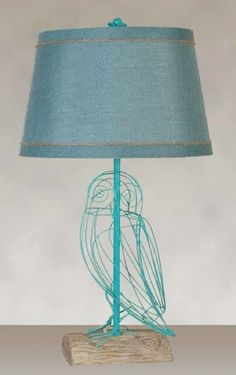 Metal Turquoise Finish with a Turquoise Linen Look Hardback Shade (2 Lamps), $115.49