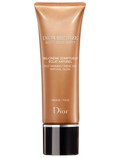 8 Self-Tanners to Try Now - Dior Bronze Selt-Tanning Crème Natural Glow for Body, $34 http://www.cosmopolitan.com/hairstyles-beauty/skin-care-makeup/best-self-tanners#slide-5