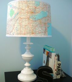30 DIY Lampshades That Will Light Up Your Life via Brit + Co.
