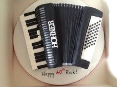 50th Birthday Party, Birthday Cake, Music Cakes, Cakes For Men, Novelty Cakes, Bakeries, Themed Cakes, Fondant, Party Themes