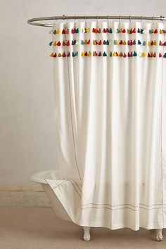Shop the Lindi Fringe Shower Curtain and more Anthropologie at Anthropologie today. Read customer reviews, discover product details and more.