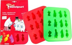 Everyone loves Moomins! Now you can put it into your drinks too! This tray as well as being great for Moomin ice cubes on a hot day it is also ideal for make a little chocolate or jelly Moomins! Size: 20 x 17 x 2 cm Moomin Shop, Wedding Favours, Childhood Memories, Kitty, Cool Stuff, Tray, Ice Cubes, Kitchen Stuff, Random