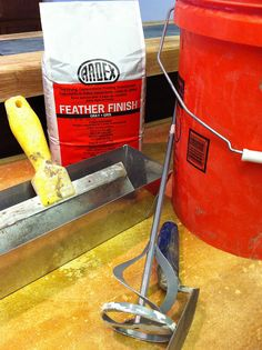 diy concrete counter without pouring concrete just use over existing counter tops.