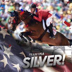 The Team USA Show Jumping Team wins silver at #Rio2016!_n.jpg (960×960)