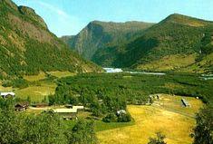 Oppland fylke Lom kommune  Grytin-camping. Bøverdalen Utg Normann