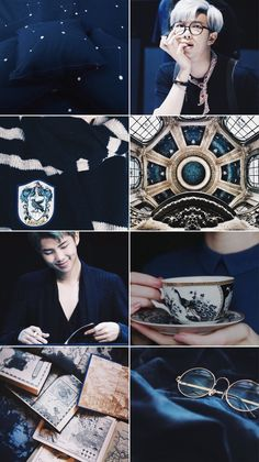 """""""If you have to ask, you'll never know. If you know, you need only ask"""" Namjoon Ravenclaw Aesthetic Like/reblog if you save"""