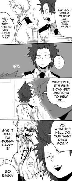 Bakugou is way too wasy to read lol