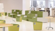 Rise is an ingenious solution for gathering people in a small space or creating a meeting space with a single grouping of furniture. Available in two-tie...