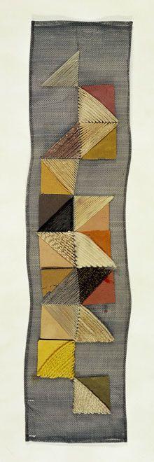 Otti Berger, Bauhaus textile designer. Born in Yugoslavia in 1898, died in Auschwitz in 1944.
