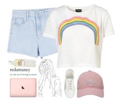 """""""Girls Like Girls//Hayley Kiyoko"""" by thelonelyheartsclub ❤ liked on Polyvore featuring Topshop, adidas Golf, ASOS and lgbt"""