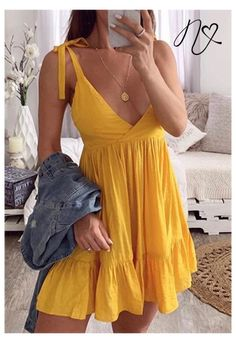 Cute Summer Dresses, Simple Dresses, Cute Dresses, Summer Outfits, Casual Dresses For Women, Skirt Outfits, Casual Outfits, Pretty Outfits, Cute Outfits