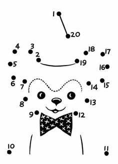 Easy Follow the Dot Activity sheet Classroom Pinterest