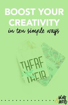 Are you in a creative slump? It's time to up your creativity game! This step-by-step guide is exactly what you need to spark your creative genius. Boost Your Creativity | Blots & Plots