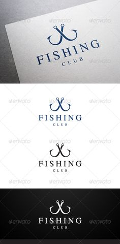 Fishing Club Logo #GraphicRiver Description Fishing Club Logo is a multipurpose logo. This logo can be used by fishing clubs, fishing companies, etc. What's included? 100% vector AI and EPS files CMYK Fully editable – all colors and text can be modified Layered 3 color variations Font Font used: TymesLittleCaps Don't forget to rate if you like! Created: 28 November 13 Graphics Files Included: Vector EPS #AI Illustrator ...