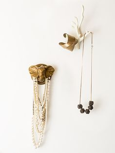Such perfection - jewelry storage solution found! | Emily & Merrit for PB Teen, via the always-inspiring design for mankind.