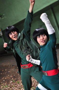 GUy sensei & Lee cosplayers