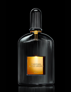 BLACK ORCHID - RICH, DARK ACCORDS, AND AN ALLURING POTION OF BLACK ORCHIDS, AND SPICE   A luxurious and sensual fragrance of rich, dark accords and an alluring potion of black orchids, and spice, TOM FORD's Black Orchid is both modern and timeless.  Bottles in fluted, black-glass, Black Orchid makes an unforgettable statement of iconic style and worldly glamour.