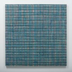 Settling Light Colour Field, Canadian Artists, Weaving, The Incredibles, Sculpture, Texture, Abstract, Create, Grid