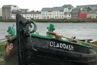 The Claddagh area, Galway Ireland