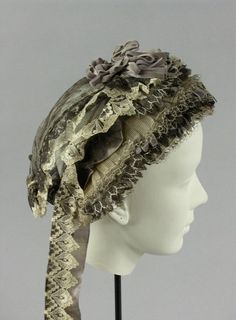 Woman's Cap, about 1860-1865.