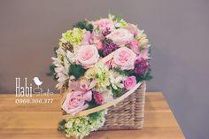 Habi flower, Habi studio, flower arrangement, birthday flower, Habi design, flower basket, vintage flower Vintage, Studio, Design, Vintage Comics, Study, Primitive