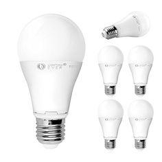 LE 12W E27 LED Bulb, Brightnest 75W Incandescent Bulbs Equivalent, Daylight White, Medium Screw, Pack of 5 Units