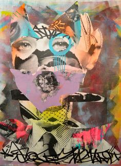 ART & FASHION SALON: Street Artist DAIN Brings Glamour & Graffiti To Folioleaf Gallery!