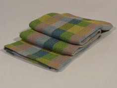 Hand woven dish towel