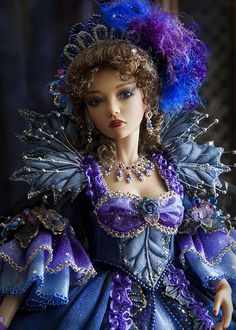 Asa as Queen of the Night | costuming by Martha Boers | Antique Lilac