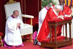 Pape François - Pope Francis - Papa Francesco - Papa Francisco - Più di 100mila per la Messa delle Palme di Francesco-