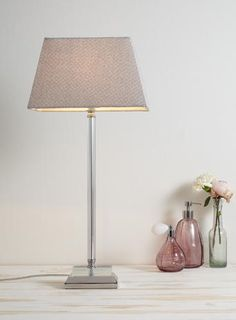 Clear Posy Table Lamp