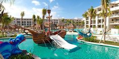 Perfect to take the whole family! The kids would love this: Family fun vacation at the Paradisus Playa del Carmen. #CCPintoWin