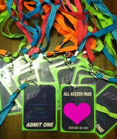 VIP Passes Invitations by on Etsy 10th Birthday, Birthday Parties, Red Carpet Theme Party, Teenage Parties, Party Themes, Party Ideas, Vip Pass, Neon Glow, Glow Party