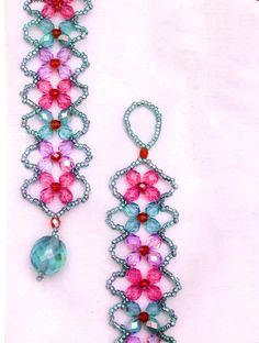 5 Fantasy Crystal Bicone Bead Jewelry Tutorials