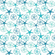 I want this for my bedroom.   Sea Gifts - Tropical Seas-White fabric by inscribed_here on Spoonflower - custom fabric