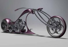 Designed:Alexander Kotlyarevsky_bike looks wind & fire have molded their alloy frames into minimalistic fierce design of future.Aggressive Swordfish concept a lean yet tough metal structure that showcases nothing more than a boundless rider needs: the air of adventure. The sleek Stalker design, on the other hand, is outfitted with wicked pink metallic body pieces, while its assertive curves reveal an equally defiant disposition.This futuristic duo will b the dream of every rebellious rider.