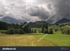 Dark Clouds Стоковые фотографии 35296774 : Shutterstock Splashback, Photo Editing, Royalty Free Stock Photos, Clouds, Mountains, Dark, Illustration, Travel, Editing Photos