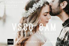 VSCO Cam Lightroom Presets Bundle by FSCO on @creativemarket