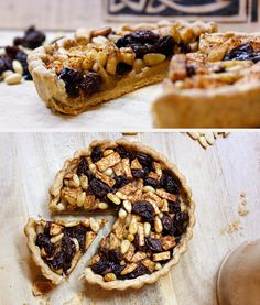 Fruit Tart with Raisins, Apples, and Pine Nuts using any a Medieval Pastry Dough recipe | The Fork and Brush: Medieval Cooking, pt. 3, Dessert & Drinks