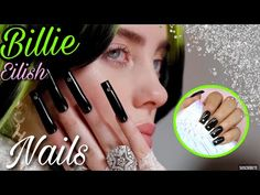 Billie Eilish, Cosmetic Shop, Gold Nails, Ear, Cosmetics, Chrome, Metallic, Internet, Mini