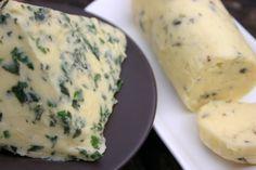 Spring Compound Butters: Lavender & Honey Butter, Tarragon Butter, Rosemary Walnut Butter, Thyme Marjoram & Orange Butter, Lemon Balm & Parsley Butter
