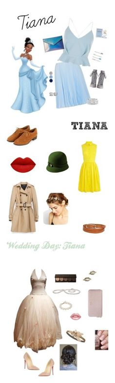 """Princess and the Frog"" by chocolate-loving-demigod ❤ liked on Polyvore featuring Prada, River Island, Zimmermann, Rebecca Minkoff, Sole Society, Burberry, Marc Jacobs, Zara, Karen Millen and San Diego Hat Co."