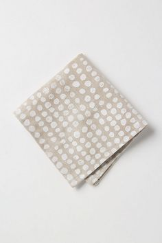 neutral dot napkins