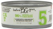 Merrick Before Grain #5 Quail Paté Style Cat Food, 5.5 Ounce Can (24 Count Case)