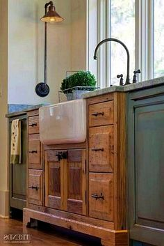 30 Wonderful Kitchen Sink Decor Ideas And Remodel. If you are looking for Kitchen Sink Decor Ideas And Remodel, You come to the right place. Below are the Kitchen Sink Decor Ideas And Remodel. Kitchen Sink Decor, Rustic Kitchen Design, Kitchen Cabinet Styles, Farmhouse Kitchen Cabinets, Farmhouse Style Kitchen, Modern Farmhouse Kitchens, New Kitchen, Country Kitchen, Home Kitchens