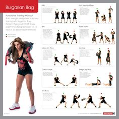 Bulgarian Bag … For More Health And Fitness Tips Visit Our Website Sandbag Workout, Fitness Tips, Fitness Motivation, Health Fitness, Outdoor Gym, Functional Training, No Equipment Workout, Camping Equipment, Weight Training
