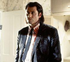 """John Travolta en """"Pulp Fiction"""", 1994"""