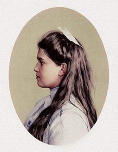 Grand Duchess Maria Nikolaevna of Russia by KraljAleksandar on DeviantArt