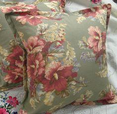 SHETLAND MANOR (1) 18x18 Ralph Lauren Cotton Fabric - 1 Custom Made Pillow Cover
